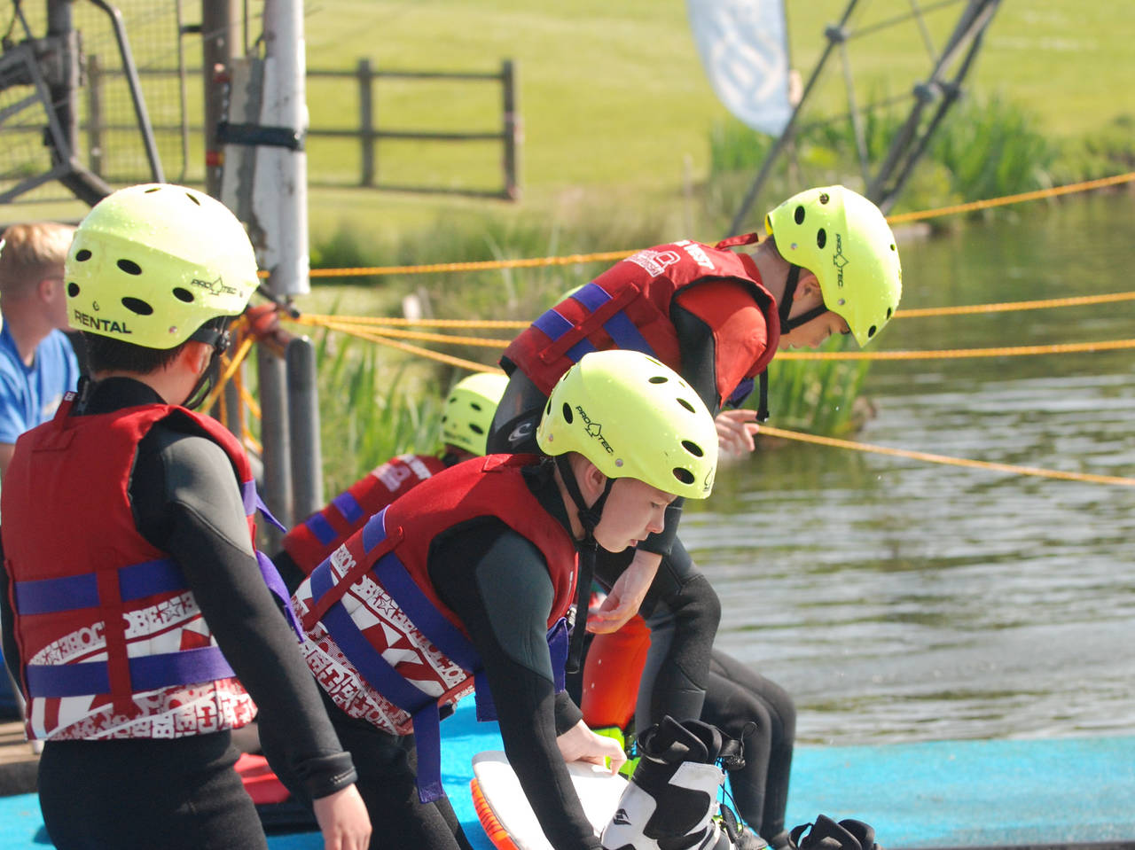 Kids Wakeboarding at our Junior Riders Session